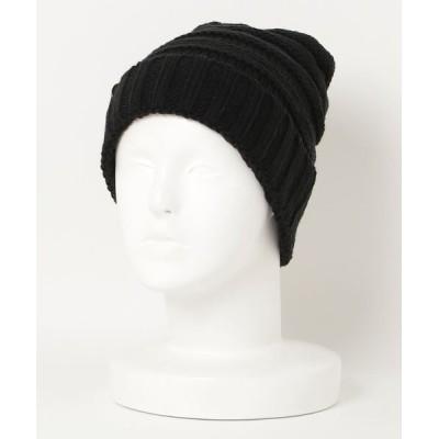 ZealMarket/SFW / レディース 帽子 ニットキャップ ケーブルニット ビーニー 防寒 保温 伸縮 ニット帽 WOMEN 帽子 > ニットキャップ/ビーニー