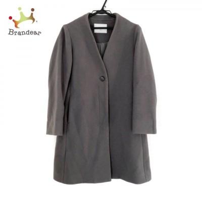 イエナ スローブ IENA SLOBE コート サイズ38 M レディース 美品 - グレー 長袖/冬 新着 20210227