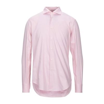 カリバン CALIBAN シャツ ピンク 44 コットン 100% シャツ