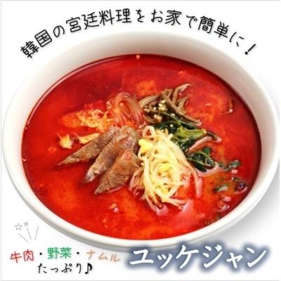 ユッケジャン 国産牛骨使用 ナムルたっぷり 韓国食品