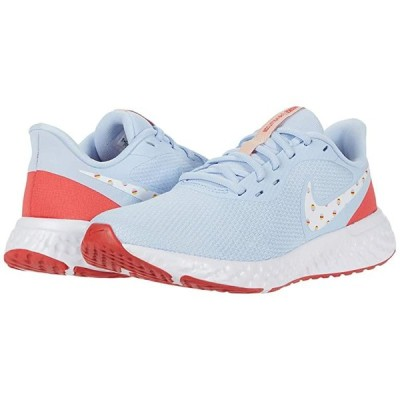 ナイキ Revolution 5 Back to School レディース スニーカー Hydrogen Blue/Multicolor/Track Red