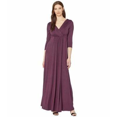 ティファニーローズ ワンピース トップス レディース Willow Maternity Gown Claret