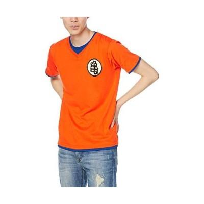 [ドラゴンボールゼット] Tシャツ 12893254 メンズ イエロー(悟空・界王) S