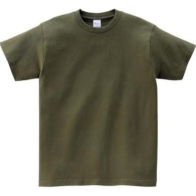 トムス チームTシャツ ユニフォーム 00085-128-130-CVT 5.6オンス ヘビーウェイトTシャツ オリーブ 130 00085-128-130 <2019AWCON>