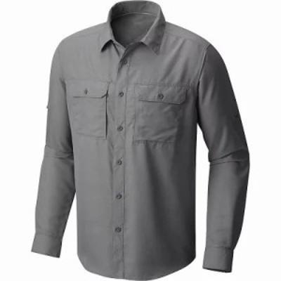 マウンテンハードウェア シャツ Mountain Hardwear Canyon LS Shirt Manta Grey