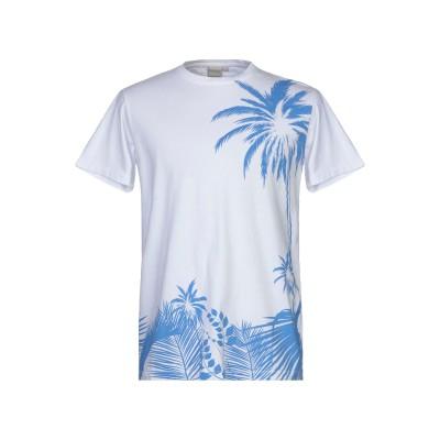PRIMO EMPORIO T シャツ ホワイト L コットン 100% T シャツ