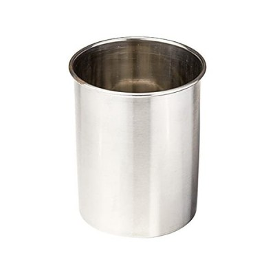 Tablecraft Products Hu2 Utensil Holder, Stainless Steel Brushed