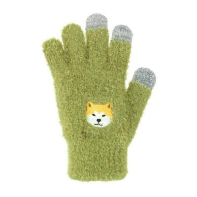 スマホ手袋 秋田犬 17319631077    フリーサイズ