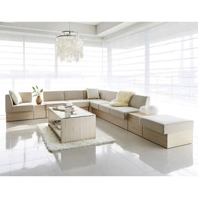 シンプルロビーソファーセット7パーツシンプルソファー業務用店舗家具 comply-set