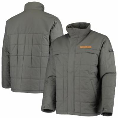 """メンズ ジャケット """"Tennessee Volunteers"""" Columbia Ridgestone Full-Zip Jacket - Charcoal"""