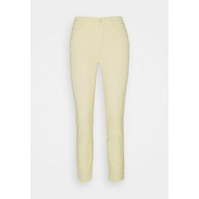 7フォーオールマンカインド レディース デニムパンツ ボトムス ROXANNE - Jeans Skinny Fit - yellow yellow