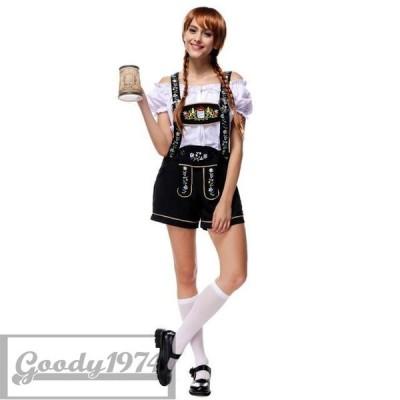 コスプレ ビールガール ドイツ メイド 民族衣装 海賊 カリブ ビールガール ビールガール ドイツ 民族衣装 メイド ディアンドル チロリア D0928