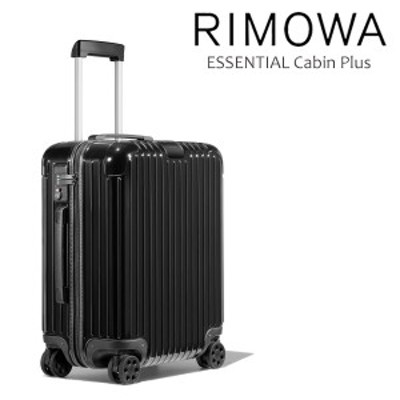 リモワ(RIMOWA) エッセンシャル キャビン プラス(ESSENTIAL Cabin Plus) グロス ブラック/キャリーケース/ 送料無料 [GG]