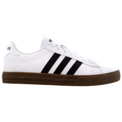 アディダス メンズ スニーカー シューズ Daily 2.0 Lace Up Sneakers Ftwr White / Core Black