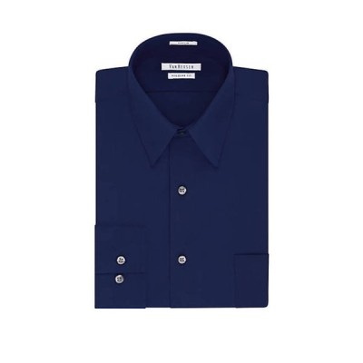 ヴァンハウセン メンズ シャツ トップス Regular Poplin Solid Shirt