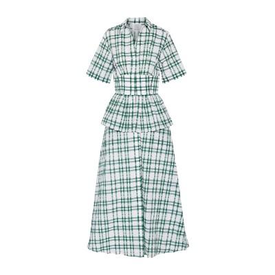 ロージー・アスリーヌ ROSIE ASSOULIN ロングワンピース&ドレス グリーン 6 ポリエステル 40% / ナイロン 31% / コットン