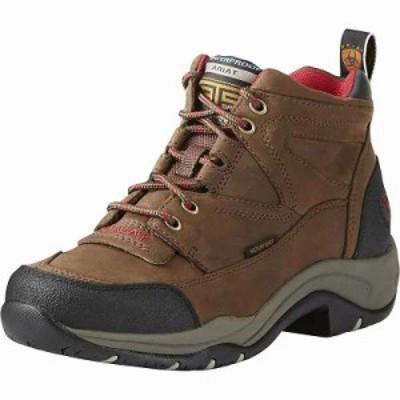 アリアト ブーツ Ariat Terrain H2O WP Boot Distressed Brown