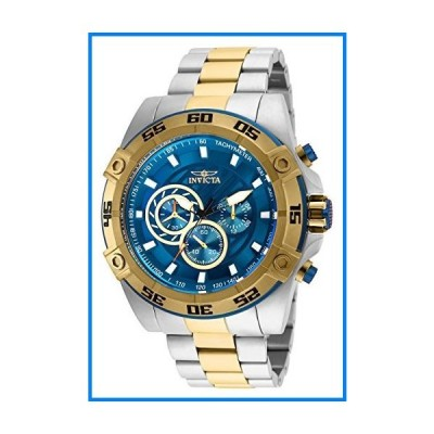 (輸入品)Invicta Men's Speedway Quartz Watch with Stainless Steel Strap, Two Tone, 26 (Model: 25538)