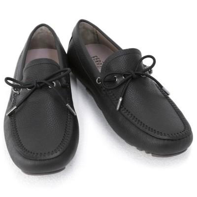 サルバトーレ フェラガモ Salvatore Ferragamo 靴 メンズ ガンチーニ ドライビングシューズ ローファー ブラック (RHETT 0735497 NERO) 2020年秋冬