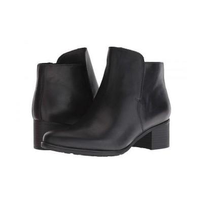 Naturalizer ナチュラライザー レディース 女性用 シューズ 靴 ブーツ アンクルブーツ ショート Deena Waterproof - Black Waterproof
