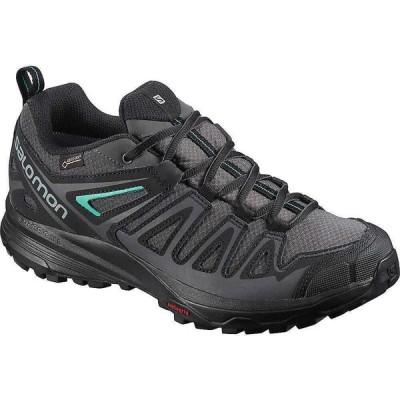 サロモン Salomon レディース ハイキング・登山 シューズ・靴 X Crest GTX Shoe Magnet/Black/Atlantis