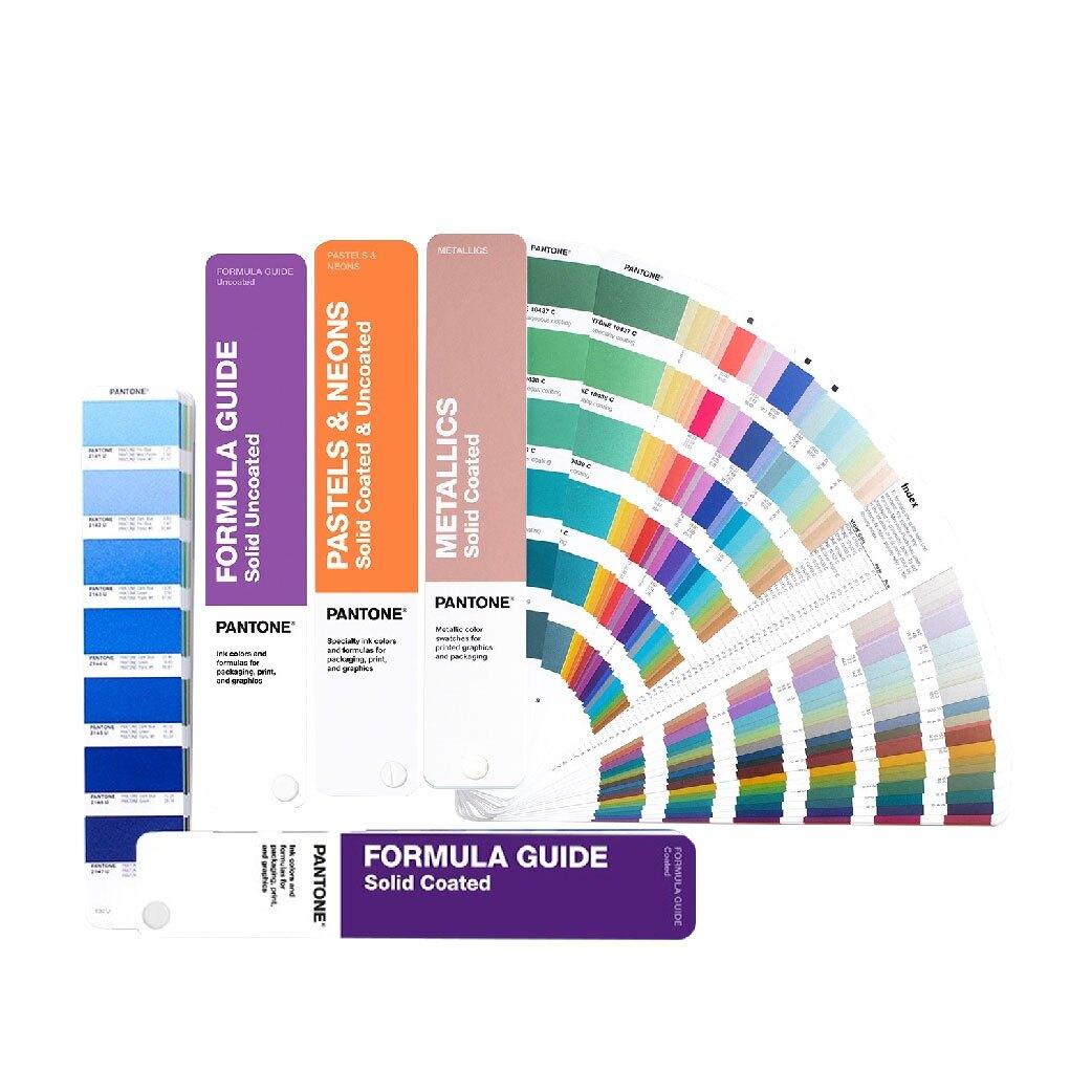 GP1605A 專色指南套裝 PANTONE 色票 顏色打樣 色彩配方 彩通 靈感 商標 品牌 包裝 規劃色彩