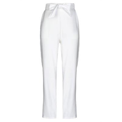 SOALLURE パンツ ホワイト 46 レーヨン 88% / ポリエステル 12% パンツ