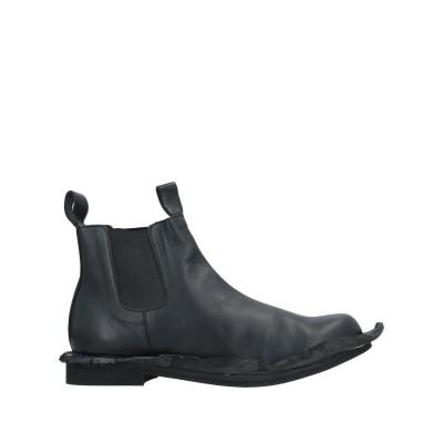 コム デ ギャルソン・シャツ COMME des GARÇONS ショートブーツ ブラック 26 柔らかめの牛革 ショートブーツ