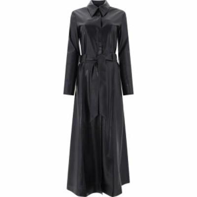 ナヌシュカ Nanushka レディース ワンピース マキシ丈 ワンピース・ドレス A-Line Maxi Dress Black