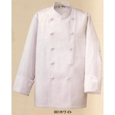 コックコート カツラギ綿100% SS~6L 白衣、厨房着