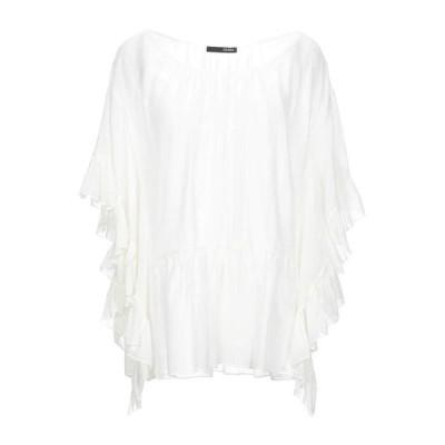 TESSA ブラウス  レディースファッション  トップス  シャツ、ブラウス  長袖 ホワイト