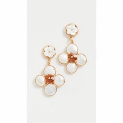 ブリンカーandエリサ Brinker and Eliza レディース イヤリング・ピアス ジュエリー・アクセサリー Clara Earrings Gold/Pearl