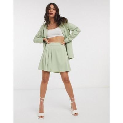 ファッションユニオン Fashion Union レディース ミニスカート スカート tailored skirt co-ord