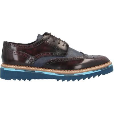マレキアーロ 1962 MARECHIARO 1962 メンズ 革靴・ビジネスシューズ シューズ・靴 Laced Shoes Maroon