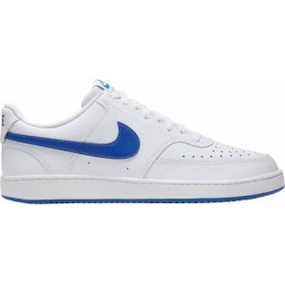 ナイキ メンズ スニーカー シューズ Nike Men's Court Vision Shoes White/Royal