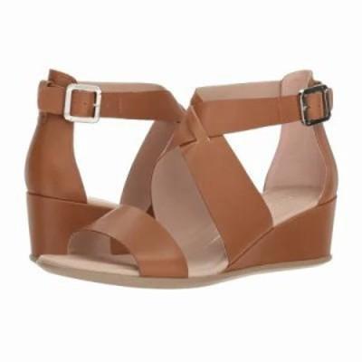 エコー サンダル・ミュール Shape 35 Wedge Ankle Cashmere Calf Leather