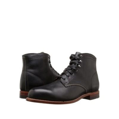 ブーツ ウルヴァリン [W05300] Mens Wolverine 1000 Mile Black Leather Original Work Boots MADE IN USA