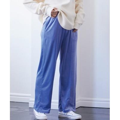 ViS / ベロアセンターピンタックイージーパンツ WOMEN パンツ > スラックス