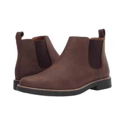 Deer Stags デアスタッグズ メンズ 男性用 シューズ 靴 ブーツ チェルシーブーツ Rockland - Dark Brown