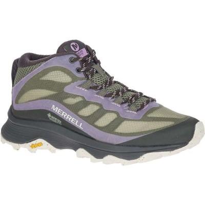 メレル Merrell レディース ハイキング・登山 シューズ・靴 Moab Speed Mid GTX Shoe Lichen