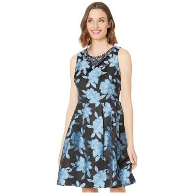 マリナ レディース ワンピース トップス Jacquard Party Dress