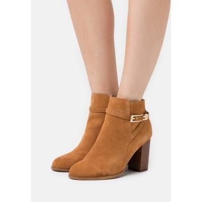 アンナフィールド ブーツ&レインブーツ レディース シューズ LEATHER - Ankle boots - tan