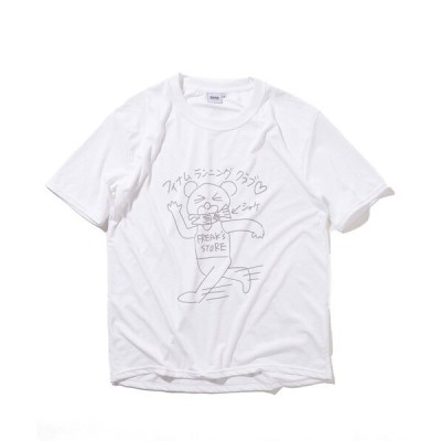 tシャツ Tシャツ HOUYHNHNM RUNNING CLUB×FREAK'S STORE/フイナムランニングクラブ HRC BRING TEE/半