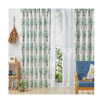 【Plune.】一目見て可愛いと感じる!ハートツリー柄遮光カーテン ドレープカーテン(遮光あり・なし) Curtains, blackout curtains, thermal curtains, Drape(ニッセン、nissen)