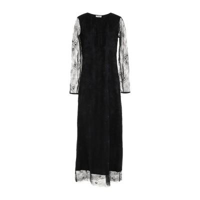 LE COEUR TWINSET 7分丈ワンピース・ドレス ブラック XS ナイロン 100% / ポリウレタン 7分丈ワンピース・ドレス