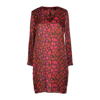 マニラ グレース MANILA GRACE ミニワンピース&ドレス フューシャ 38 レーヨン 65% / シルク 35% ミニワンピース&ドレス