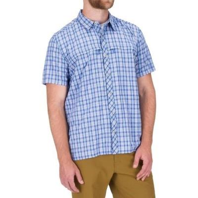 シムズ メンズ シャツ トップス Stone Cold Short-Sleeve Shirt
