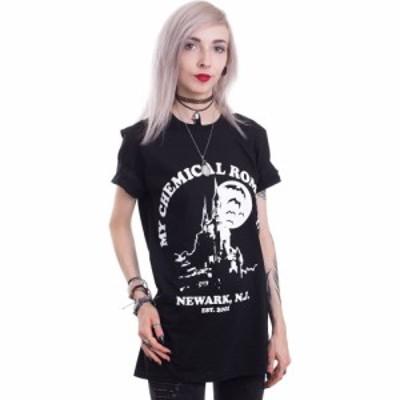 インペリコン Impericon レディース Tシャツ トップス - Haunted Castle - T-Shirt black