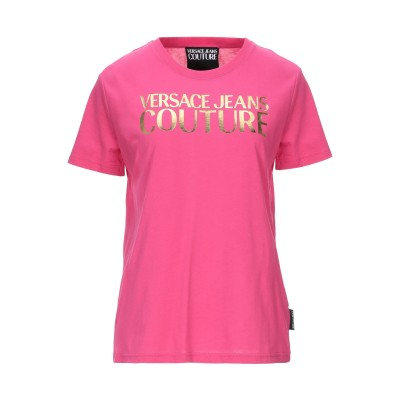 VERSACE JEANS COUTURE T シャツ フューシャ XXS コットン 100% T シャツ