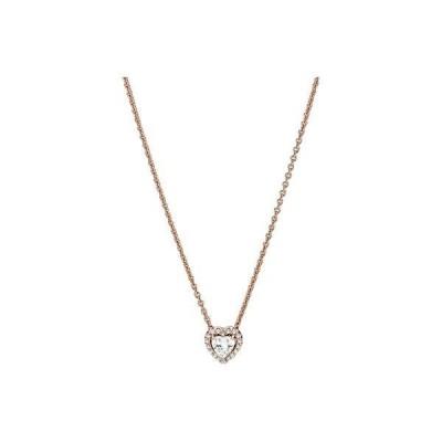 パンドラ レディース ネックレス・チョーカー・ペンダントトップ アクセサリー 45 cm Timeless Sparkling Heart CZ Necklace